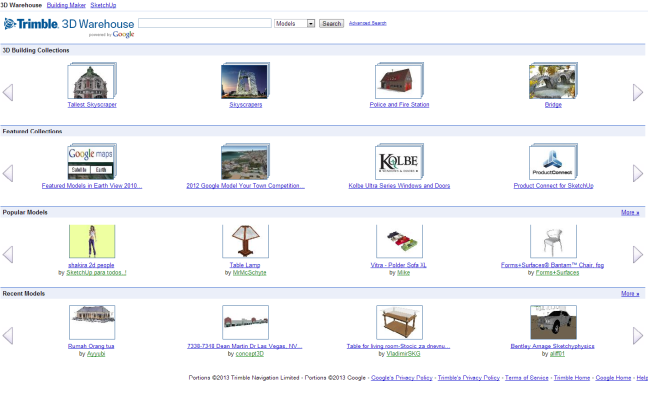 google warehouse